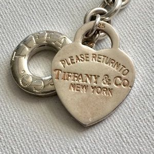 Return to Tiffany & Co Heart Toggle Bracelet 925